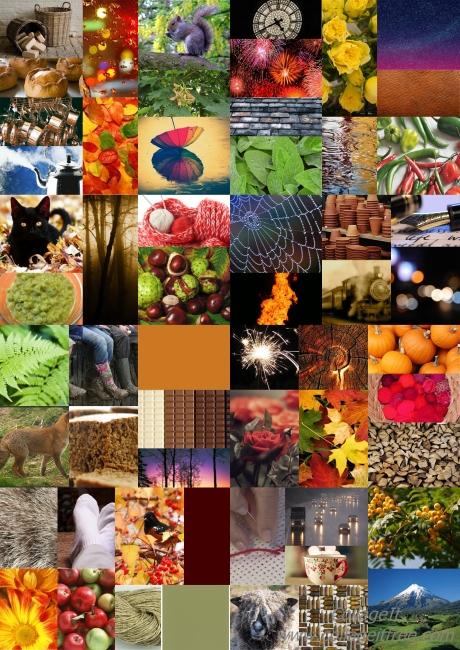 Autumn Inspired Moodboard